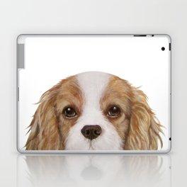 Cavalier King Charles Spaniel Dog illustration original painting print Laptop & iPad Skin
