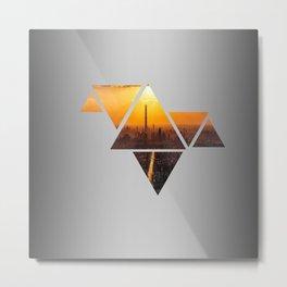 Triangles 3 Metal Print