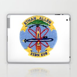 USS ETHAN ALLEN (SSBN-608) PATCH Laptop & iPad Skin