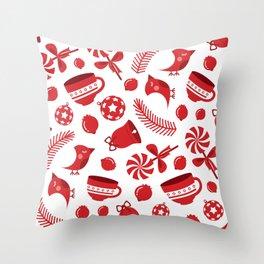 Christimas Pattern III Throw Pillow