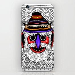 Bucovina Mask / Masca de Bucovina iPhone Skin