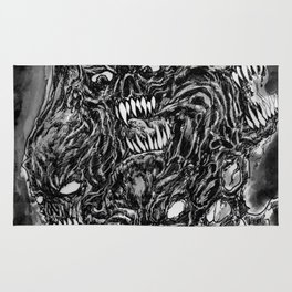 Tormented Hell Rug