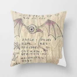 Book of Nightmares, The Observer Throw Pillow
