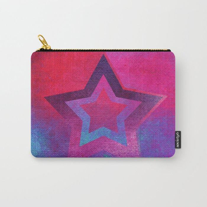 Suprematist Star V Carry-All Pouch