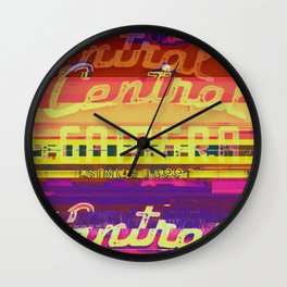 Central Camera, Chicago   Project L0̷SS   Wall Clock