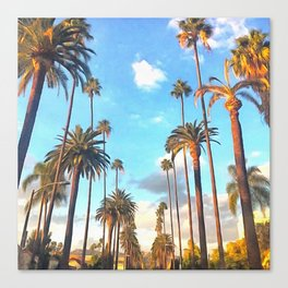 L.A. Morning Canvas Print