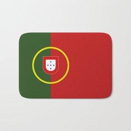portugal flag Bath Mat