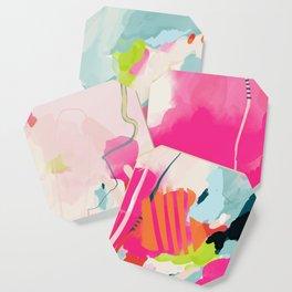 pink sky II Coaster