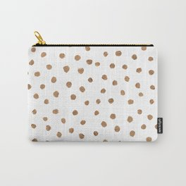 Goldie Dots Carry-All Pouch