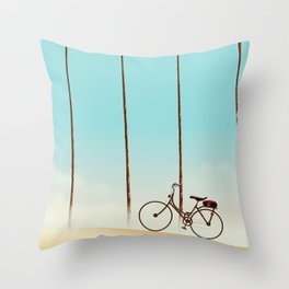 Bicycle Throw Pillow