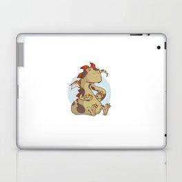 Negative Dragon light Laptop & iPad Skin