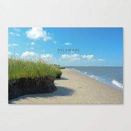 Woodland Beach - Delaware. Canvas Print