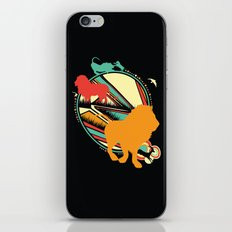 King of the Jungle iPhone & iPod Skin
