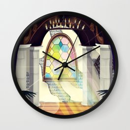 Christian Church Wall Clock
