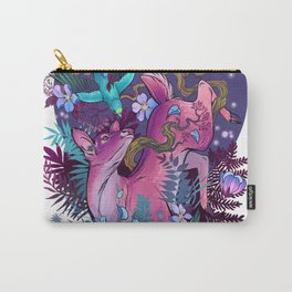 Majestic Midnight Pink Whitetail Doe Carry-All Pouch
