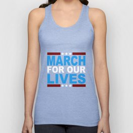 March for Our Lives Shirt Unisex Tank Top