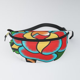 Traditional Rose Fanny Pack