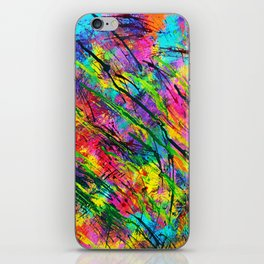 Colorful Abstract iPhone Skin
