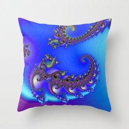 spiral growth -2- Throw Pillow
