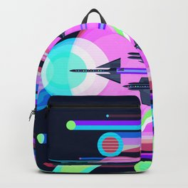 The Grand Tour : Vintage Space Poster Cool Backpack