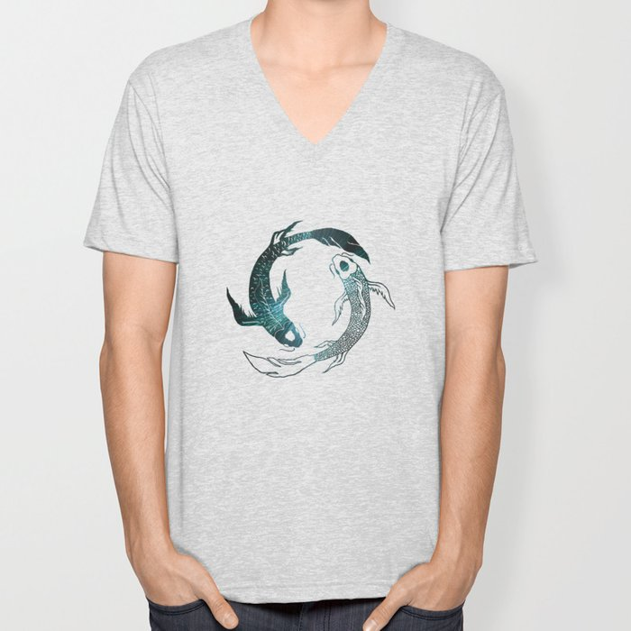 Balance in the Universe Unisex V-Neck