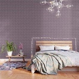 Bunny Pattern (purple) Wallpaper