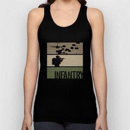 Airborne Infantry Unisex Tank Top