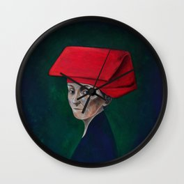 Samsui Woman Wall Clock