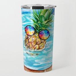 Chilling Pineapple Travel Mug