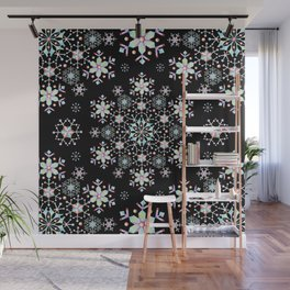 Snowflake Lace Wall Mural