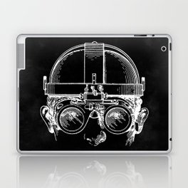 Welding Goggles Blueprint Laptop & iPad Skin