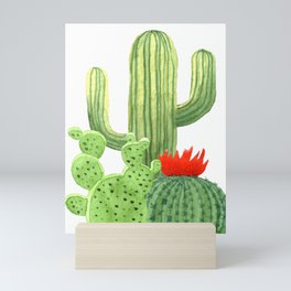 Perfect Cactus Bunch Mini Art Print
