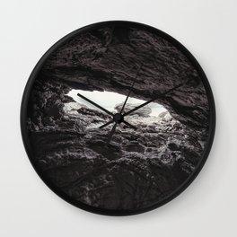 Shallow Cave Wall Clock