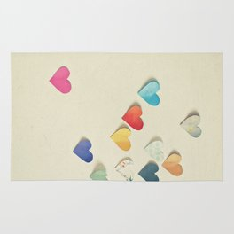 Paper Hearts Rug