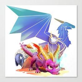 Spyro Reborn Canvas Print