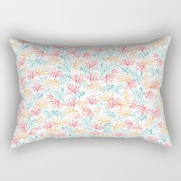 Coral Reef Branches Rectangular Pillow