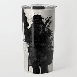 Post Apocalyptic Warrior Travel Mug