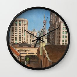 Rockbund Bund Wall Clock