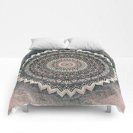 WARM WINTER MANDALA Comforters