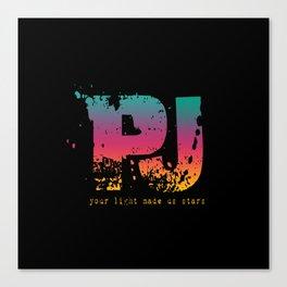 PJ - Your Light Made Us Stars Canvas Print