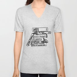 Favorite Books Unisex V-Neck