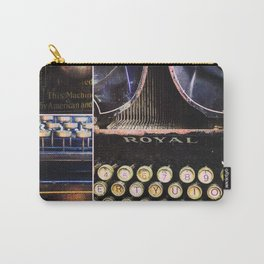 The rapport typewriter Carry-All Pouch