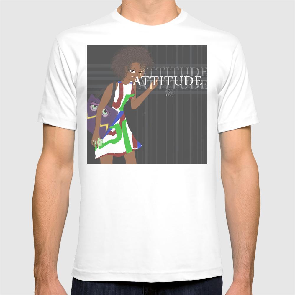 Attitude T-shirt by Dragonh3art TSR8917967