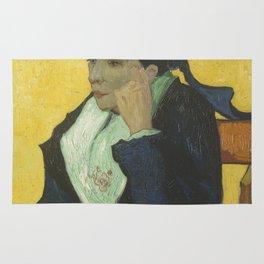 Portrait of Madame Ginoux Rug