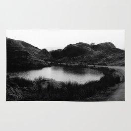 Fairy Glen, Isle of Skye, B/W Rug