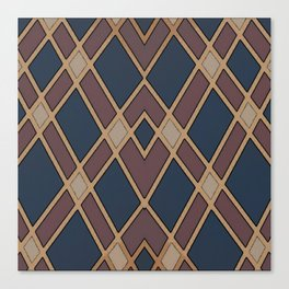 Comical Pattern #2 Canvas Print