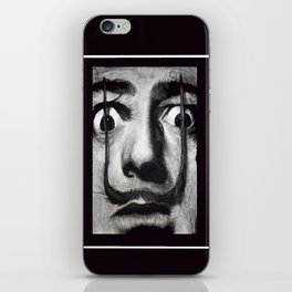 I am drugs ( Salvador Dali ) iPhone Skin