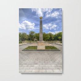 Soviet War Graves And Memorial Budapest Metal Print
