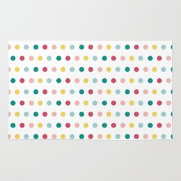 Colorful happy dots Rug