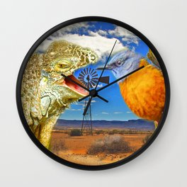 Tourists in Namaqualand Wall Clock